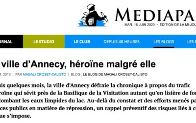 La ville d'Annecy, héroïne malgré elle