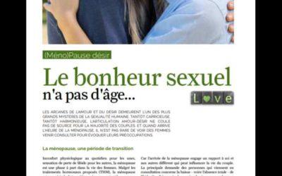 Ménopause et sexualité