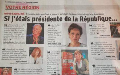 «Si j'étais présidente de la République»