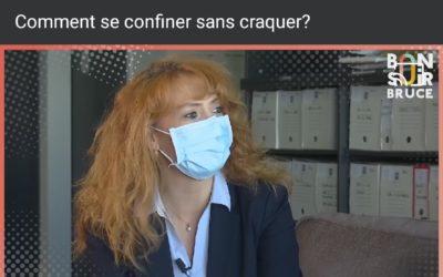 «Comment se confiner sans craquer», Magali Croset-Calisto invitée de Bruce Toussaint (BFM TV) dans l'émission «Bonsoir Bruce».